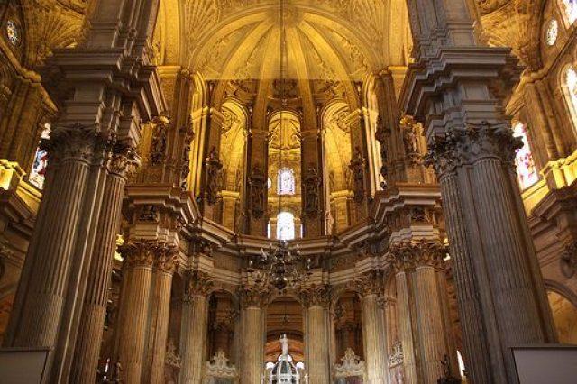 Interior Catedral de Málaga