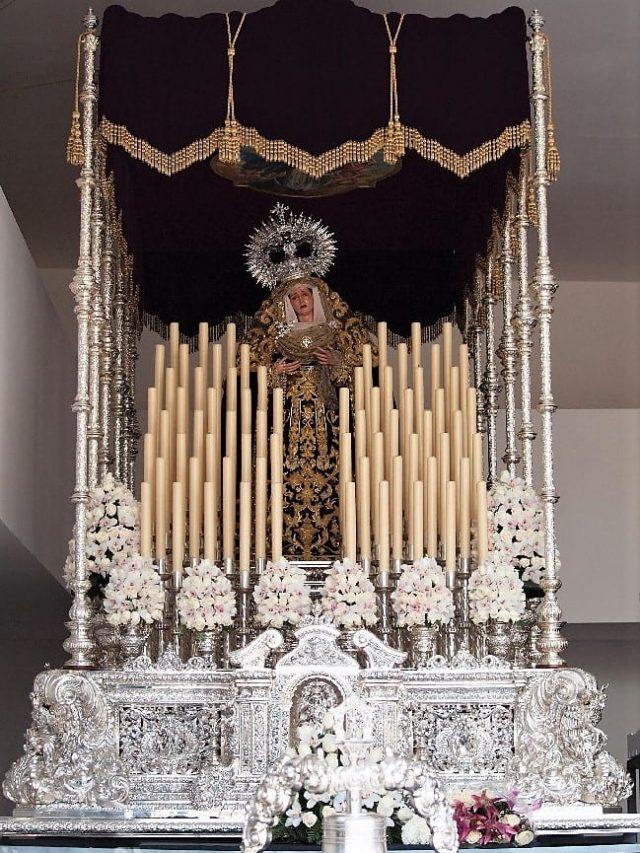 María Santísima del Mayor Dolor en su Soledad (Crucifixión)