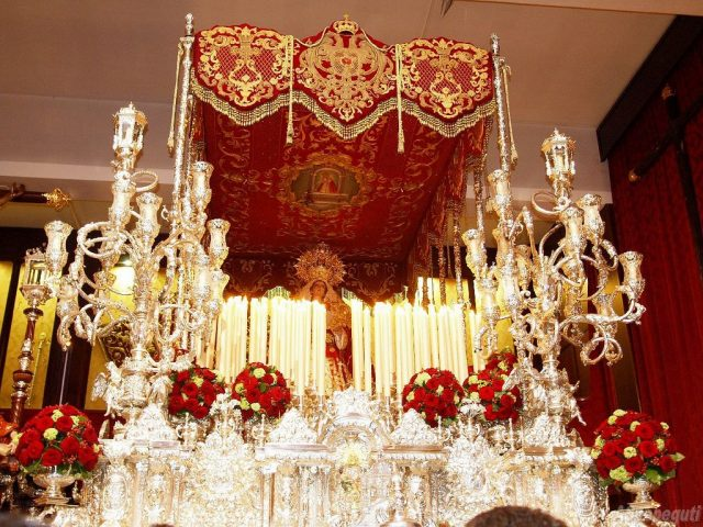 María Santísima de La Amargura Coronada (Zamarrilla)
