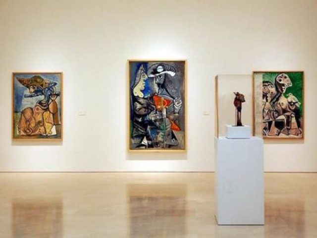 Interior museo Picasso
