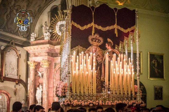 María Stma. del Patrocinio Reina de Los Cielos (Salutación)